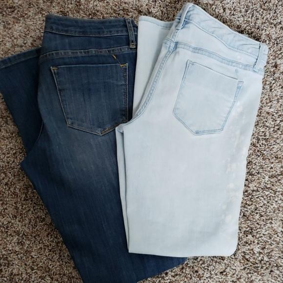 Mossimo Supply Co. Denim - Bundle of 2 Mossimo Jeans